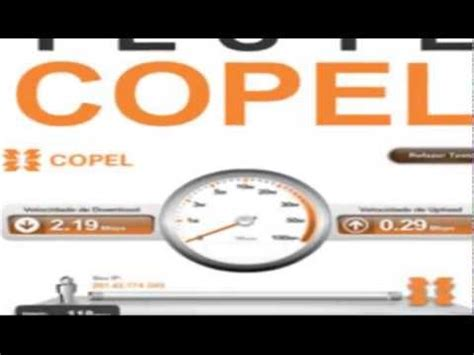 test velox telecom teste a velocidade da copel speed test net