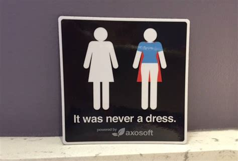 Thalita Sogan Tolet Dress it was never a dress this caign will change the way you see s bathroom signs forever