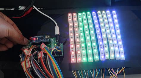 led light projects stunning rgb light effects arduino nano gadgetronicx