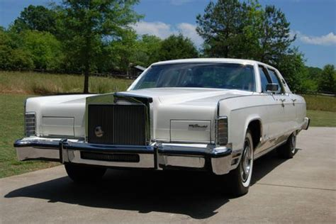 lincoln continental 77 purchase used 1977 77 lincoln continental town car w 43k