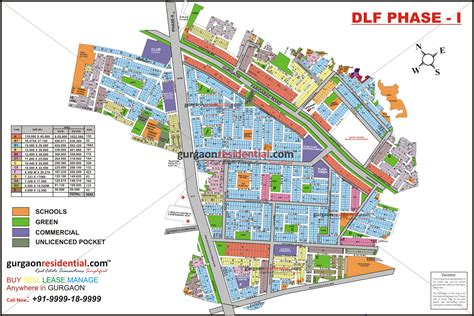 layout plan of gurgaon buy plots in dlf phase 1 gurgaon gurgaon plots