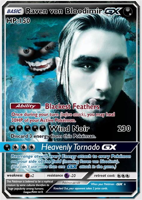 Gx Card Template High Resolution by Card Raveven Bloodimir Gx By Ravenvonbloodimir