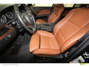 auburn interior 2007 bmw 5 series 530i sedan photo