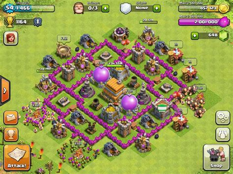 layout of coc town hall 6 top 5 defensive layout for coc town hall 6 topp5
