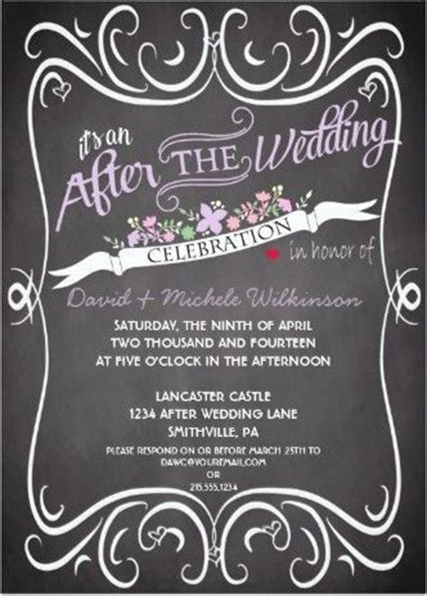 Wedding Announcement Not Invitation by 17 Best Ideas About Wedding After On