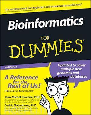libro the rest of us bioinformatics for dummies claverie jean michel notredame cedric john wiley sons libro