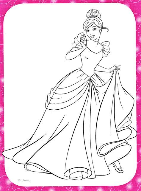 Coloring Pages Disney Princesses by Unique Disney Princess Coloring Pages Cinderella Free