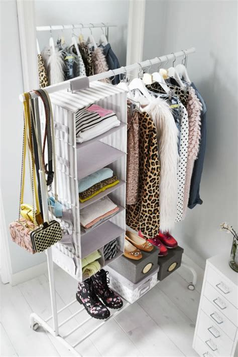 Dresser To Hang Clothes by Svira Hanging Storage With 7 Compartments Gray White