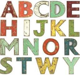 dekoration buchstaben decorative wooden letters decorative alphabet letters