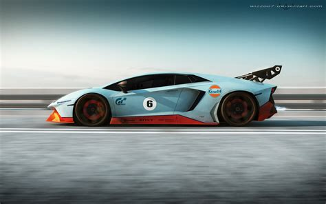 gulf car lamborghini gulf edition by wizzoo7 on deviantart