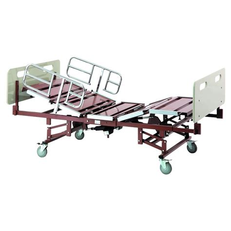 full electric hospital bed invacare bariatric full electric hospital bed with 42 inch
