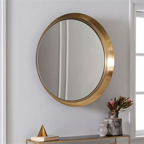 recessed wall mirror west elm
