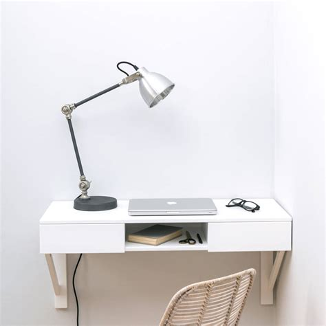 floating desk with drawers floating desk with drawers by urbansize