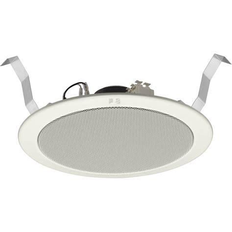 Ceiling Speaker Toa 6 Watt toa electronics pc 2369 6 quot ceiling mount speaker pc 2369