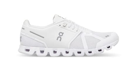 all white womens running shoes on cloud s running shoes ss18 all white alton