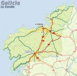 La Coruna Spain Map by Map Of La Coru 241 A Map For Planning Your Holiday In La
