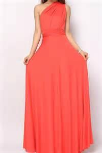 The Dress by Coral Long Infinity Convertible Bridesmaids Dress Lg 03