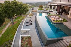 Backyard Bowls San Francisco Infinity Pool Backyard On Swimming Pools