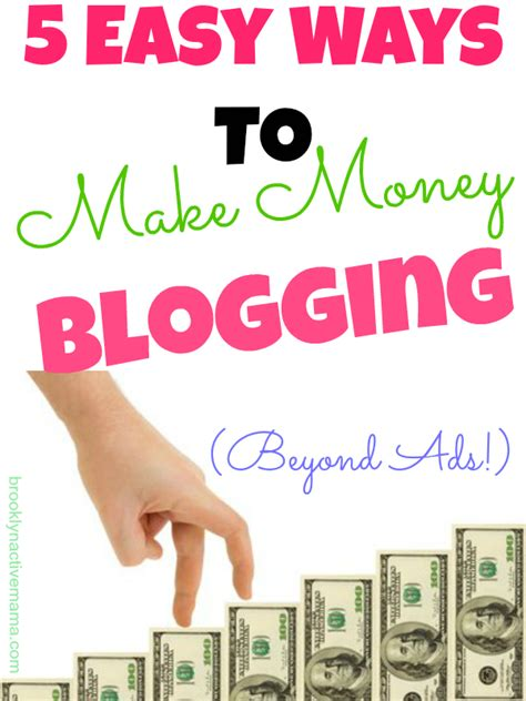 Easy Ways To Make A Lot Of Money Online - 5 easy ways to make money blogging the sits girls