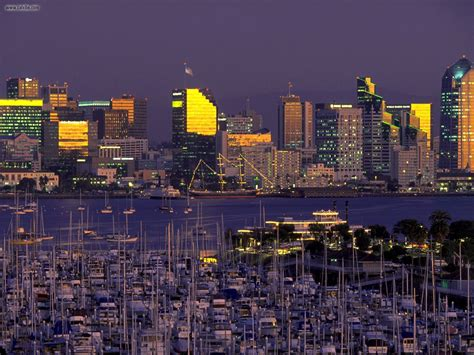 San Diego by Buildings City San Diego California Picture Nr 22735