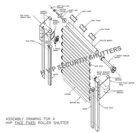 How Do You Take Blinds Down Roller Shutter Anatomy Learn How Roller Shutters Work