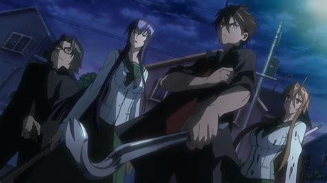 highschool of the dead 1 anime review highschool of the dead x wideface