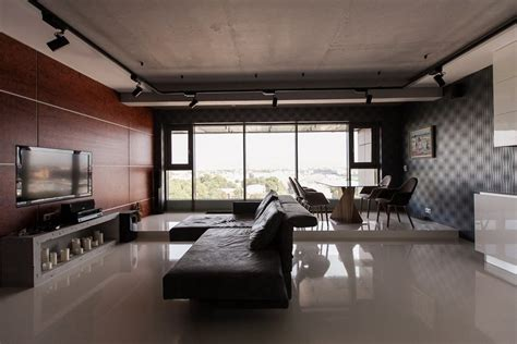 Beautiful Kitchen Backsplash Ideas bachelor s apartment with podiums panoramic windows
