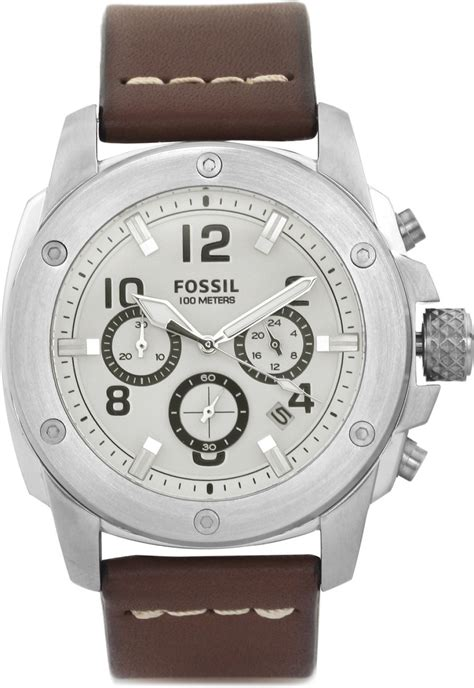 Fossil Fs4929 Silver Coklat fossil fs4929 modern machine for buy fossil fs4929 modern machine for