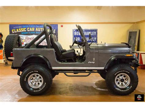 jeep 1986 cj7 1986 jeep cj7 for sale classiccars cc 981926