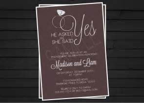 engagement invitation digital file by shestutucutebtq