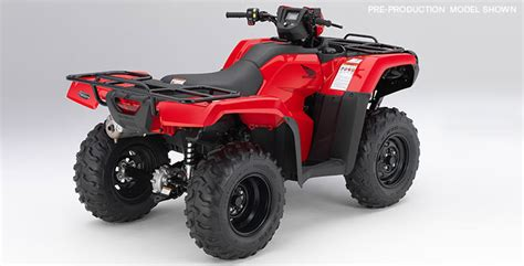 Honda Foreman Accessories by 2018 Fourtrax Foreman 4x4 Overview Honda Powersports