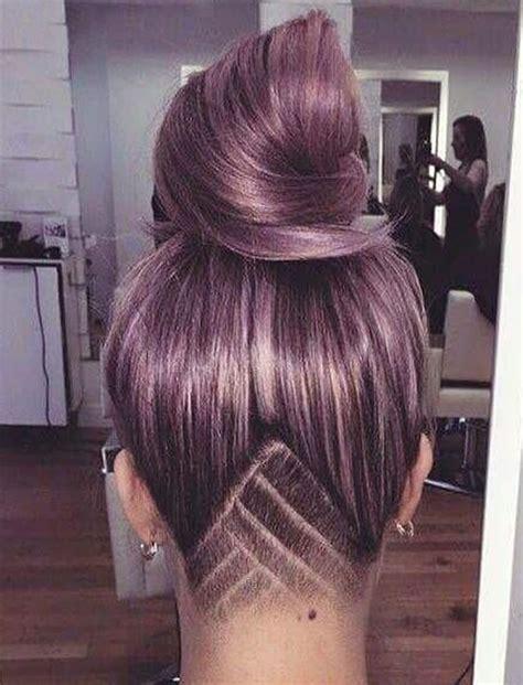 undercut hairstyle ideas  shapes  womens hair