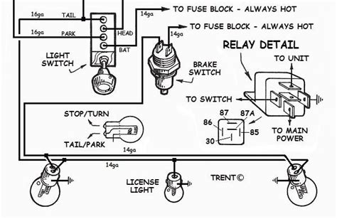wiring diagram for automotive light readingrat net