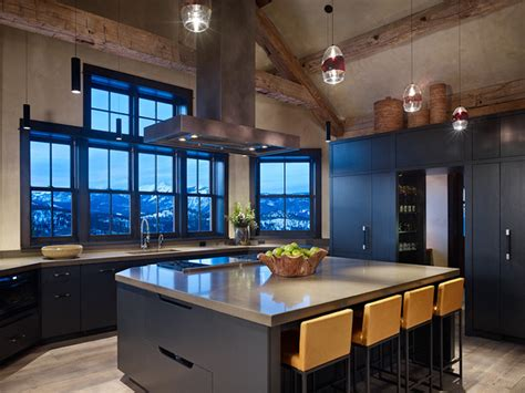 mountain home kitchen design modern mountain kitchen