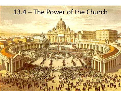 the power of the 13 4 the power of the church ppt video online download