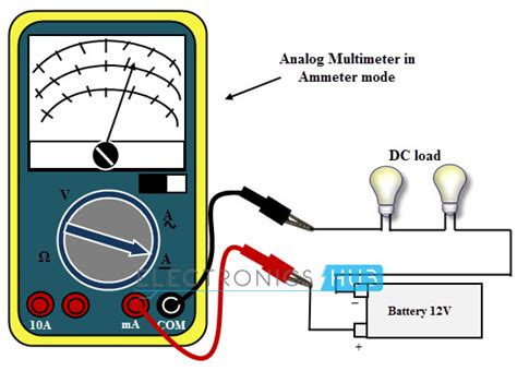 how to use a digital multimeter to test a resistor current measurement using multimeter