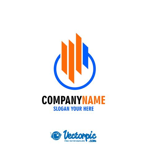 finance logo design  vector vectorpic