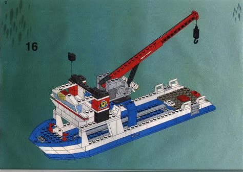 Lego Brick Wange Ship 040330 lego divers ship 6560 town
