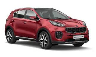 Kia Sportage Configurator New Kia Sportage Car Configurator And Price List 2017