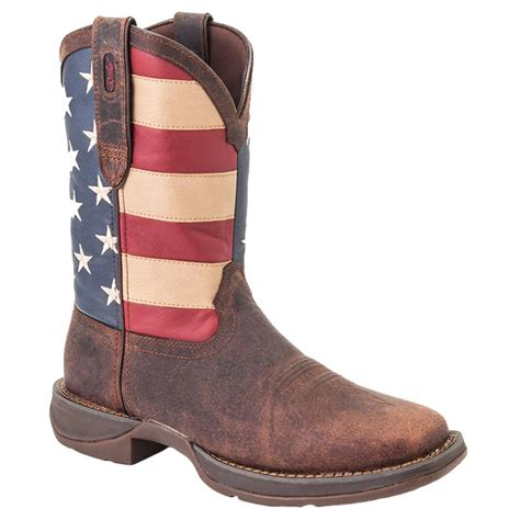 rebel by durango 174 steel toe flag s western boots