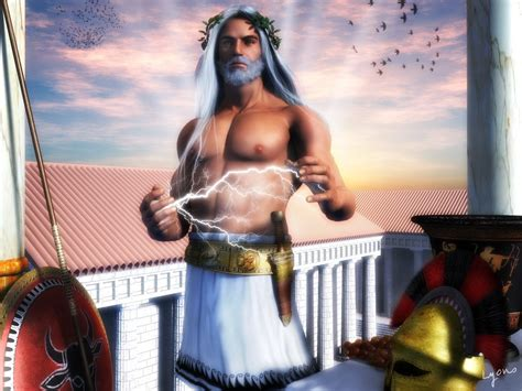 biography of zeus zeus god of the olympics and supreme ruler of mt olympus
