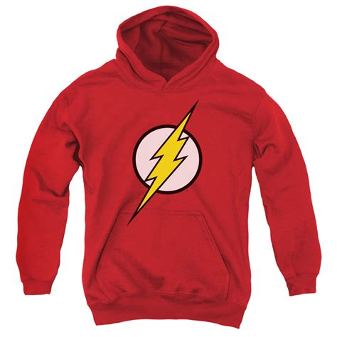 Jaket Sweater Hoodie Zipper Superman Logo Justivce League the flash classic logo youth hoodie superheroden