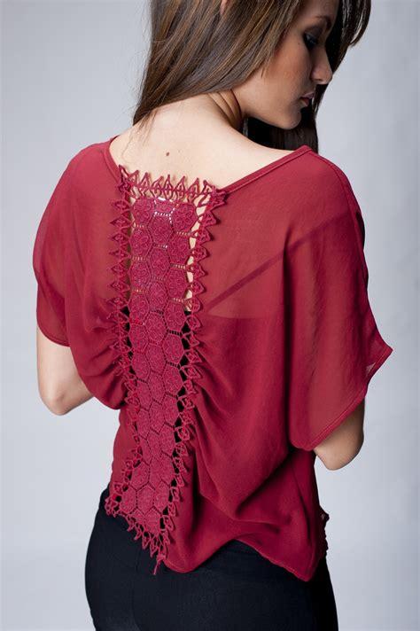 imagenes de blusas blancas con encajes blusas para gorditas 187 blusas rojas con encaje 4