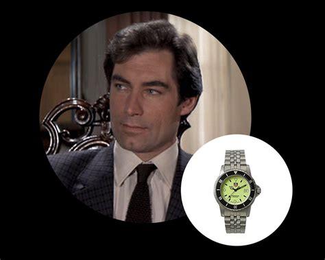 timothy dalton submariner watches of james bond