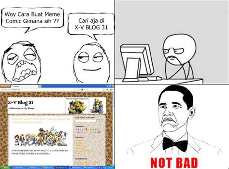 Mentahan Meme - cara membuat meme dengan rage maker dan meme maker share