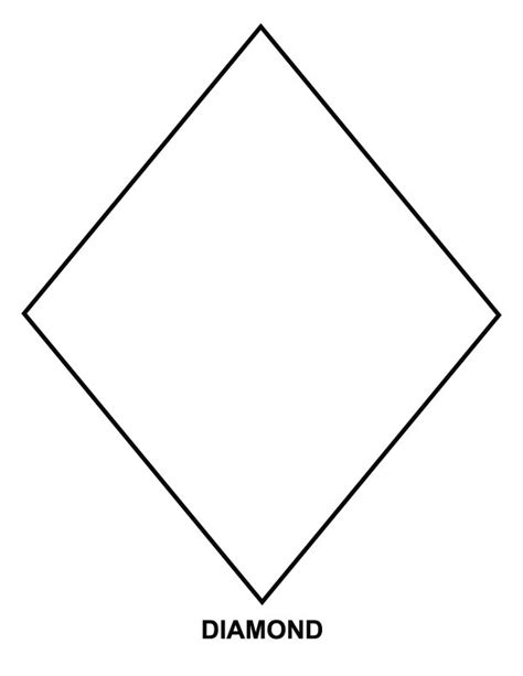 diamond coloring pages preschool diamond coloring page download free diamond coloring