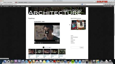 wordpress tutorial gallery youtube gallery plugin for wordpress video tutorial