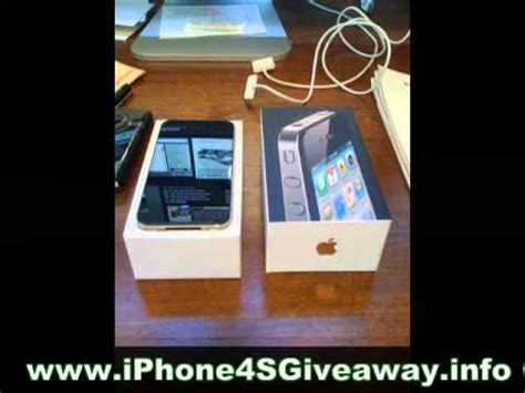 Free Iphone Giveaway No Survey - free iphone 4s giveaway with no surveys mp4 youtube