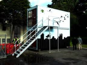 Container Home Design Uk by Shipping Container Homes Ease Uk Homeless Crisis