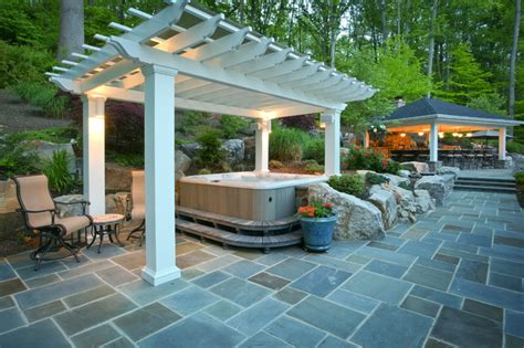 tub on patio installing patios for tubs which are ideal in the
